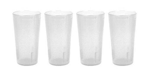 32 oz.  Restaurant Tumbler Beverage Cup, Stackable Cups, Bre