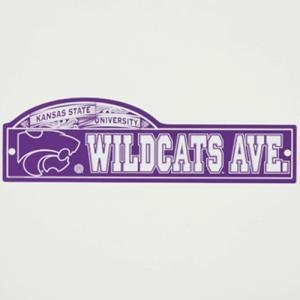 Wincraft Kansas State Street//zone Sign