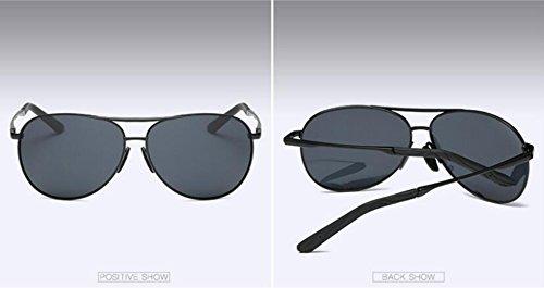 lunettes sheet Black soleil gray box pilote LSHGYJ Polariseur l'air crapaud hommes spécifiques Miroir conduite soleil l'armée de HD Glsyj de black de lunettes wUUxABCqI