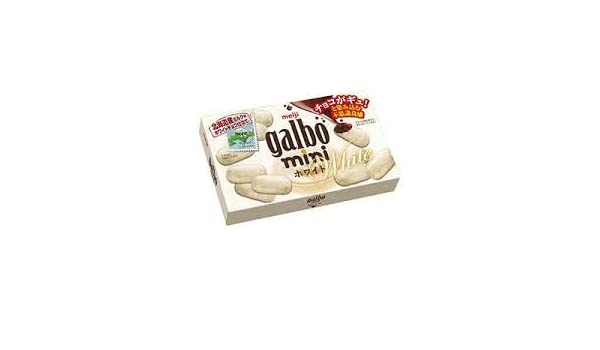 Amazon.com : Meiji galbo mini White 68g | Hokkaido Milk White Chocolate (Japan Import) : Grocery & Gourmet Food