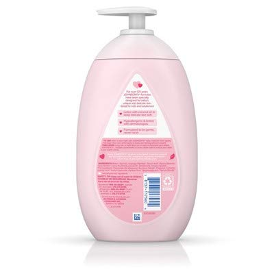 Johnson's Moisturizing Pink Baby Lotion w/Coconut Oil (Pack of 6)