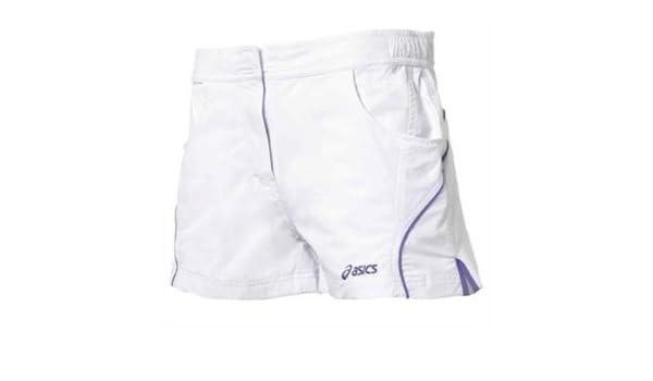 ASICS W S Padel Short - Pantalón corto de pádel para mujer, talla XS, color blanco/púrpura: Amazon.es: Deportes y aire libre