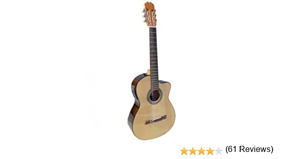 Admira (Sara) Iniciacion 4/4 Electrificada Cutaway guitarra ...