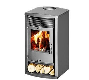 Estufa de leña skladova tehnika, Modelo Vita, salida de calor 14 kW: Amazon.es: Bricolaje y herramientas