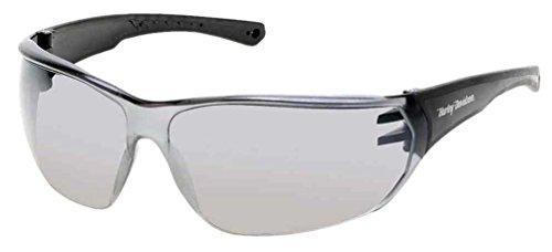 Harley-Davidson Men's Kickstart HD Sunglasses, Black Frames & Silver Mirror - Sunglass International