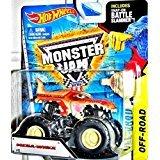 Hot Wheels Monster Jam Scale 1:64 Mega-Wrex Includes Battle Slammer by Mattel