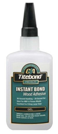 Titebond Instant Bond CA Adhesive, Gel 4 oz by Titebond (Image #1)