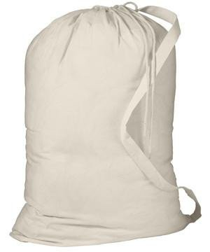 Canvas Laundry Bags With Strap - 3