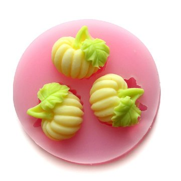 Bakeware & Accessories - F0520 Silicone Pumpkin Cake Mould Fondant Soap Chocolate Cake Mould - Pumpkin Mold Candy Number Silicone Cake Panna Cotta Pumkin - - Solstice Number Phone