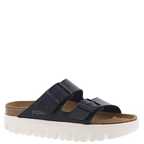 Birkenstock Women's Arizona Birko-Flor Sandals, Chunky Black, 37 N EU ()