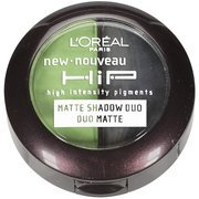 L'Oreal Paris HiP high intensity pigments Matte Eye Shadow Duos, Perky, 0.08 Ounces