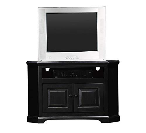 (Wood & Style Furniture Savannah Corner Entertainment Console, 41