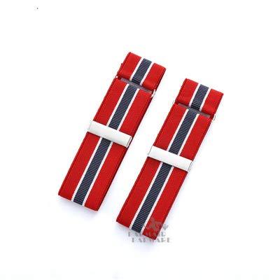 Casavidas 2 piezas/paquete Marcas de nylon y accesorios de Spencer Men Bandas de brazo de resorte redondo Accesorios de barra...