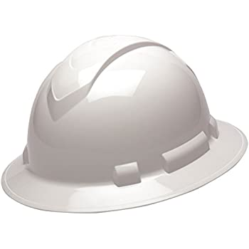 Pyramex Safety HP54116 Ridgeline Full Brim Hard Hat (White Graphite ... e54491e2ed49