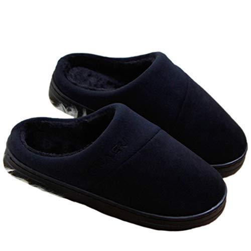 - Nafanio Women Winter Slippers Indoor Outdoor Home Shoes Corduroy Short Plush Massage Warm House Unisex Flip Flops