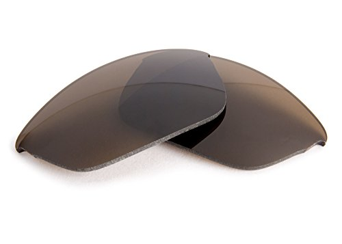 FUSE Brown Tint Replacement Lenses for Oakley Half Wire - Oakley Half Wire Lenses Replacement