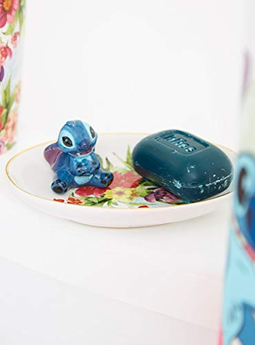 Hot Topic Disney Lilo & Stitch Floral Figural Soap Dish