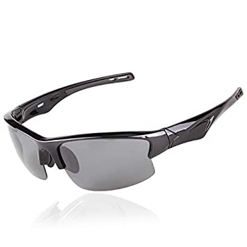 Mjia sunglasses Gafas Deportivas Hombre,Gafas de Sol polarizadas Gafas, Deportivas Ligeras Gafas,