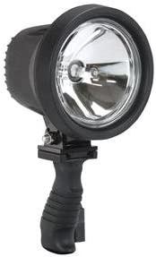 6 Million Candlepower Spotlight With Handle 12 Foot Coil Cord And Cigarette Plug 12 24 Volts Dc Landscape Spotlights Amazon Com