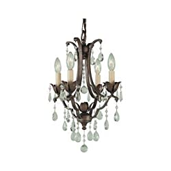 Feiss F1881/4BRB Maison De Ville Crystal Small Can