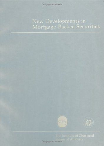 New Developments in Mortgage-Backed Securities