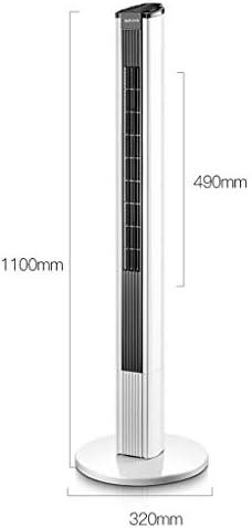 Ventilateurs Climatisation /Ét/é de Tour de radiateur Salon Balcon Chambre Climatiseur sur Pied T/él/écommande Climatisation M/énage Climatiseur Color : Blanc, Size : 90cm