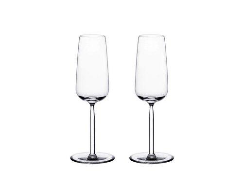 Iittala Senta Champagne - Set of 2 by (Champagne Iittala Glass)