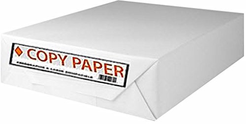 Staples Copy Fax Printer Paper, 8 1/2'' x 11 Letter Size, 20 lb., 92 US/104 Euro Bright White, Acid Free, Ream, 500 Total Sheets (324791/Ream) by Staples