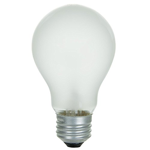 48 Pack of 40 Watt Long Life Incandescent Light Bulb, 130 Volts, Warm White, 3200K, Clear Finish, Medium Base - General Purpose: Lamps, Ceiling & Wall Fixtures, and More by Sunlite (Image #1)