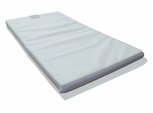 LAURA 119x59cm Baby Travel Cot Mattress : British Made With High Grade...
