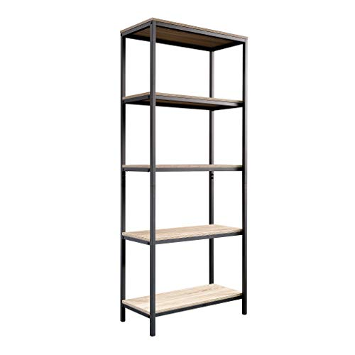 Modern Oak Bookcase - Sauder 420277 North venue Tall Bookcase, L: 23.47