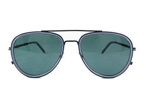 Sunglasses Tomas Maier TM0009S TM 0009 9S S 9 001 BLACK / GREEN / - Black Hut Sunglass Friday