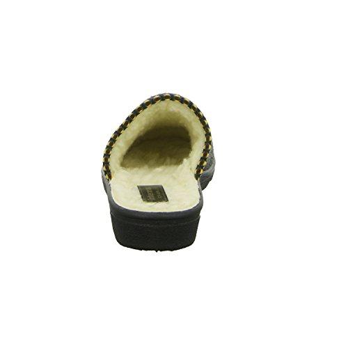 Intermax ROSI-2-W-04/5212 Damen Pantolette Warmfutter Grau (Grau)