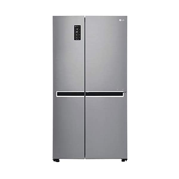 LG 687 L Frost Free Inverter Linear Side-by-Side Refrigerator (GC-B247SLUV, Platinum Silver III, Multi Air Flow) 2021 July Energy savings with inverter linear compressor Capacity 687 L: Suitable for families with 5 or more members Warranty: 1 year on product, 10 years on compressor