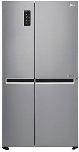 LG 687 L Frost Free Side by Side Refrigerator GC B247SLUV.APZQEBN, Platinum Silver, Inverter Compressor