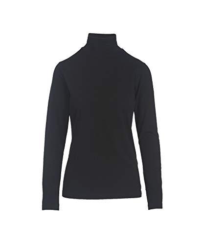Woolrich Women's Laureldale Turtleneck Top, Black, M