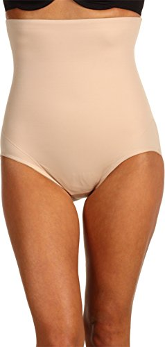 Miraclesuit Real Smooth Extra Firm Control High-Waist Brief, 2XL, Nude