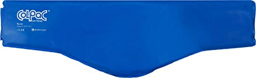 (Chattanooga ColPac Cold Therapy, Blue Vinyl, Neck Contour Cold Pack (23