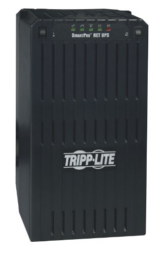 Tripp Lite SMART2200NET 2200VA 1700W UPS Smart Tower AVR 120V XL DB9 for Servers, 6 Outlets