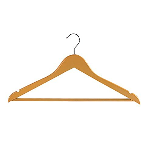 Little Less Solid wood hangers home closet clothes rack wood