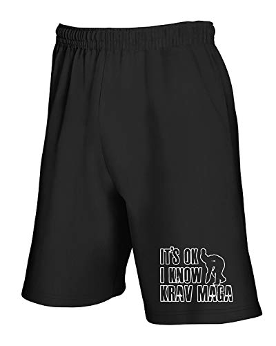 Tuta Krav shirtshock T Tam0098 Nero Pantaloncini Magas q81xpTEx