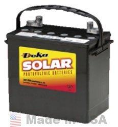 MK 8A22NF 55AH (20 HR) T881 TERMINAL AGM Battery by MK/Deka