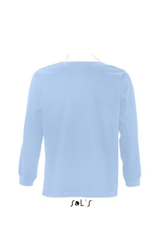 SOL´S Rugbyshirt Pack, Größe:XL, Farbe:Sky Blue/White