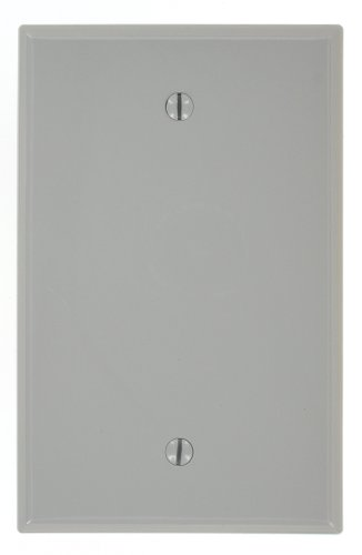 Leviton PJ13 GY 1 Gang Wallplate Midway