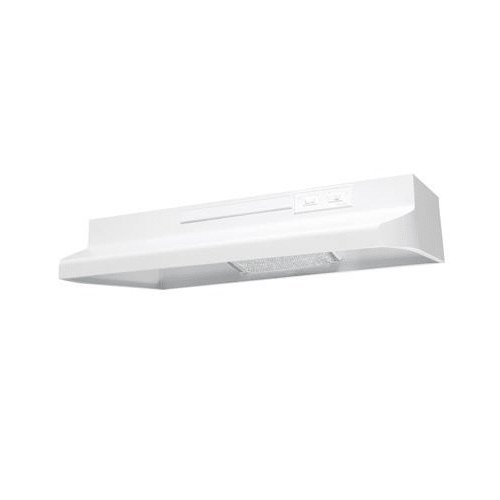 (Air King AV1213 Advantage Convertible Under Cabinet Range Hood with 2-Speed Blower and 180-CFM, 7.0-Sones, 21-Inch Wide, White Finish)