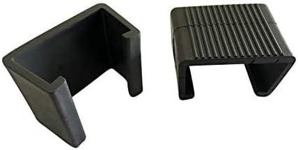 Pack de 10 sujetadores para muebles de patio de mimbre, para alineación de sofá de varios cuerpos. Abrazaderas, conectores, Medium