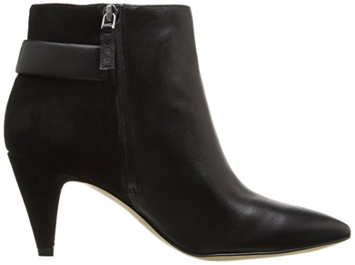 Nine West Women's Jaison Leather Ankle Bootie Black perfect online ebay cheap online for sale under $60 sale fashion Style lowest price cheap price Z0nPjd