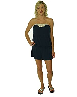 Women's Natural Connection Romper Swim Cover Up