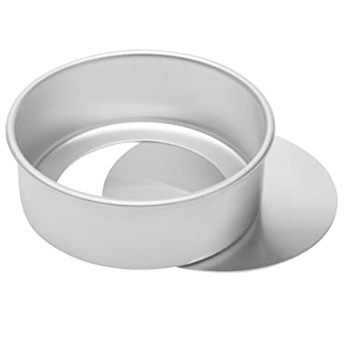Ateco Aluminum Cake Pan with Removable Bottom, Round, 8 by 3-Inch