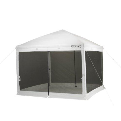 Wenzel Smartshade Screenhouse (White, 10 x 10-Feet), Outdoor Stuffs
